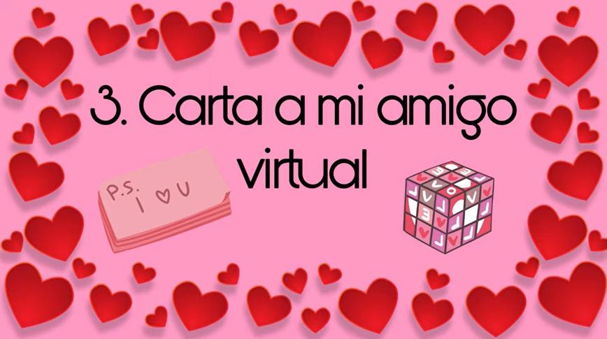 Carta a mi amigo virtual