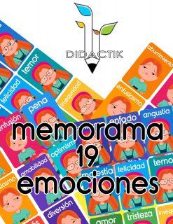 Memorama de Emociones para Niños