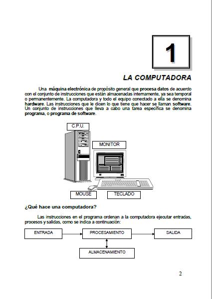 Computacion para niños 2