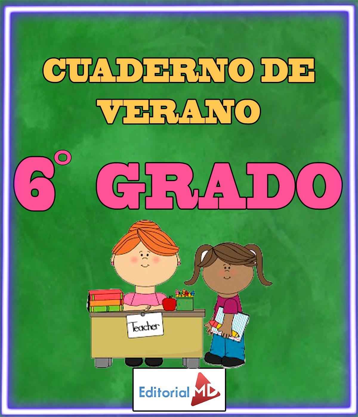 Cuaderno de Verano para Imprimir Quinto Grado |Primaria|