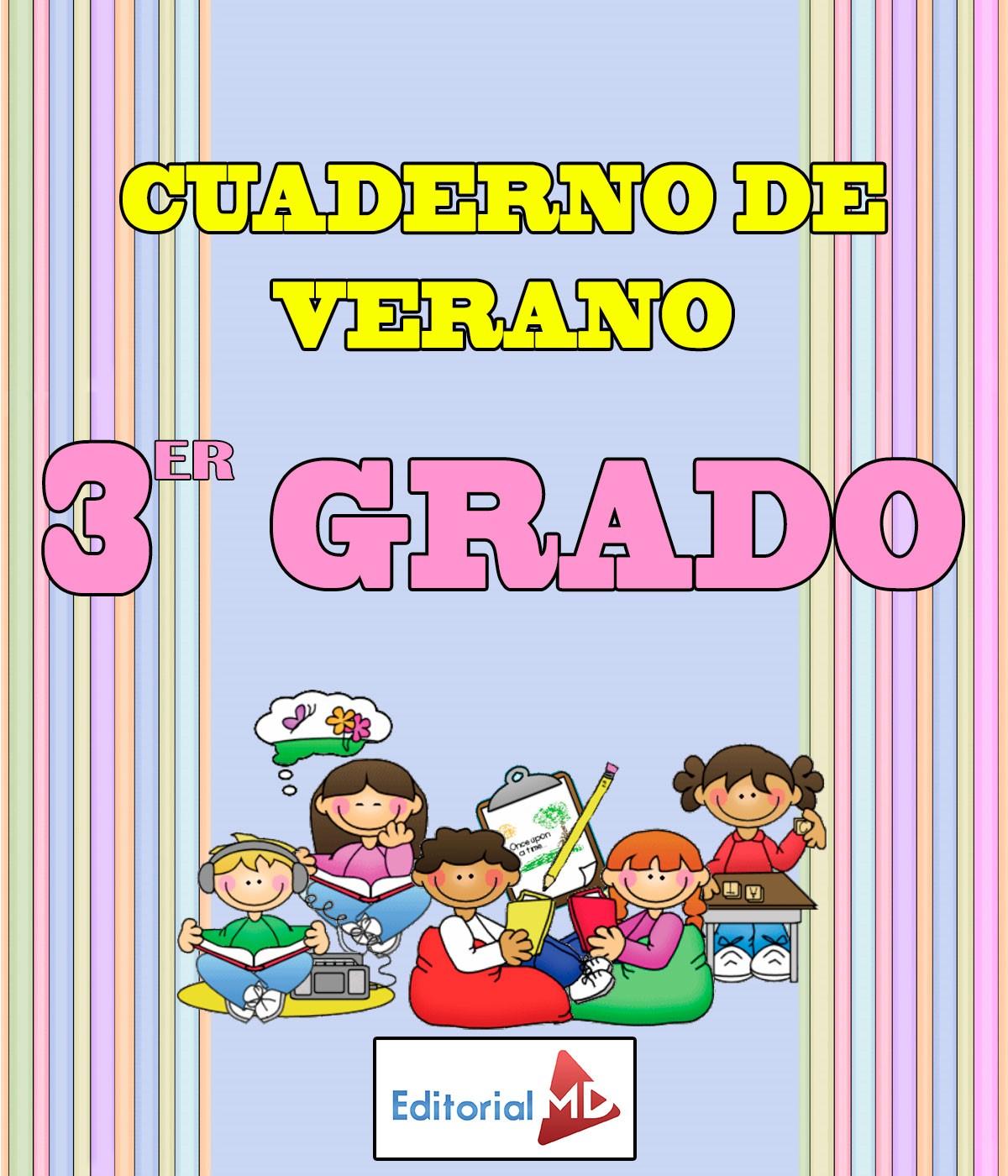 Cuaderno de Verano para Imprimir Tercer Grado |Primaria|