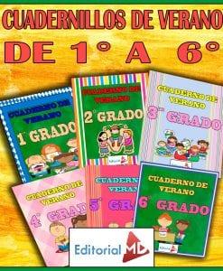 Cuadernillos de Verano Para Imprimir de Priamaria