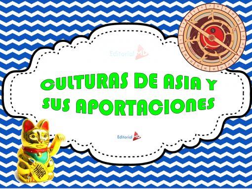 Culturas De Asia Y Sus Aportaciones
