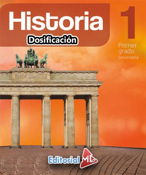 DOSIFICACIÓN DE HISTORIA 1 TRIMESTRAL