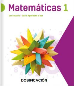 Dosificacion matematicas secundaria 1