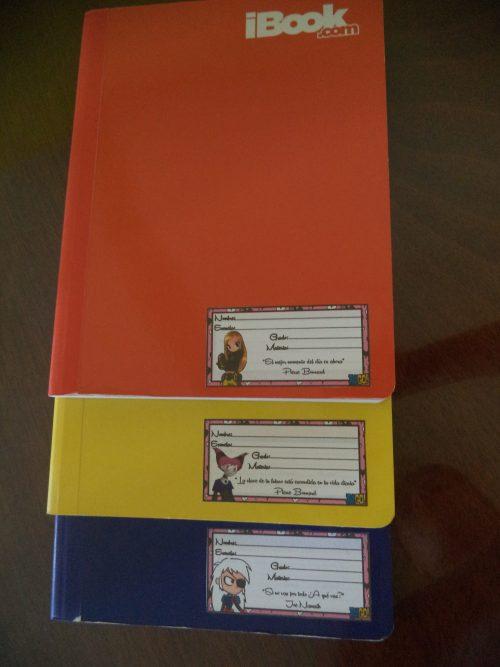Etiquetas para Cuadernos y/o Libros para Imprimir