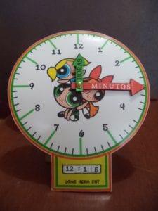 ejemplo reloj aprender a leer la hora