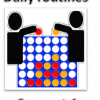 Daily Routines Connect Four Game 01