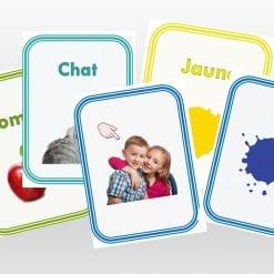 Flash Cards en Francés