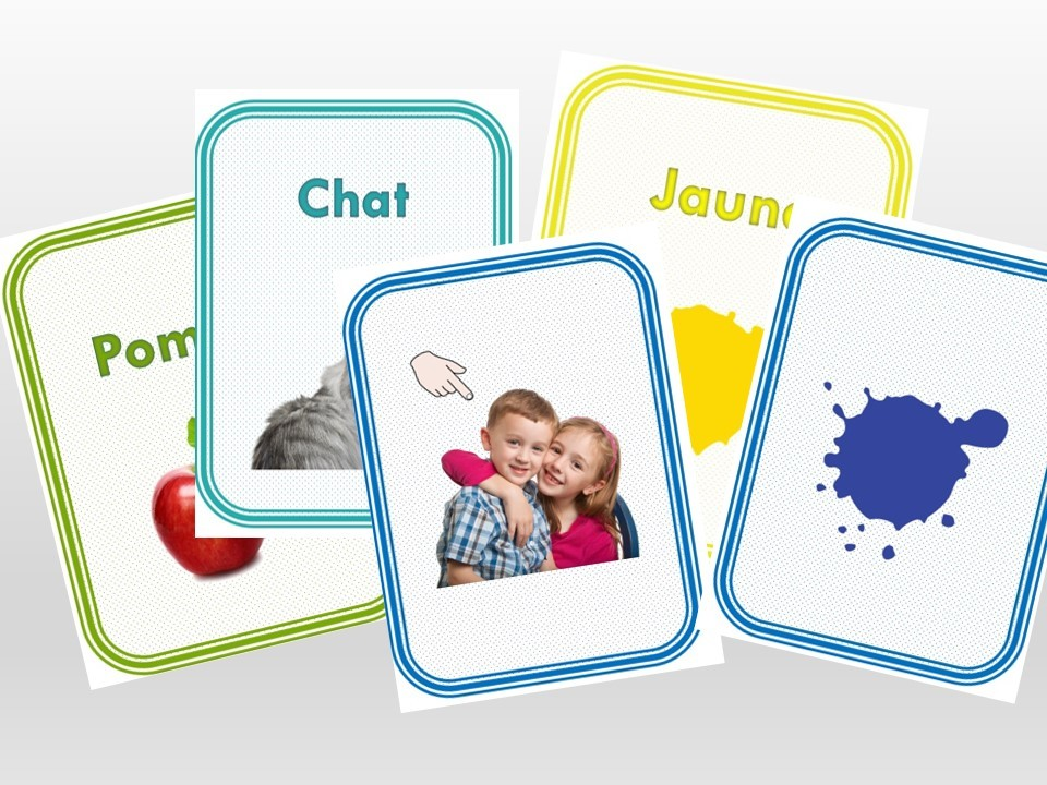 Flash Cards en Francés