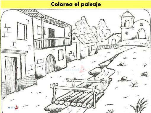 Dibuja El Paisaje descripción