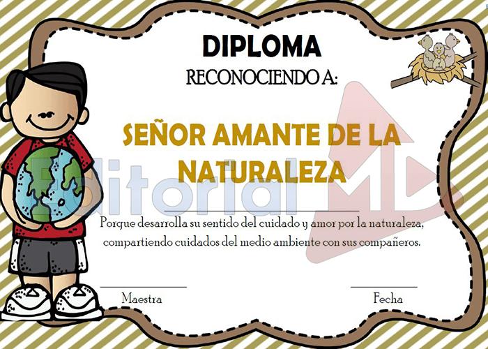diplomas de Fin de Curso para primaria