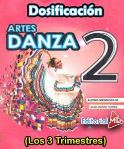 Dosificación de Artes Danza 2 (Los tres trimestres)