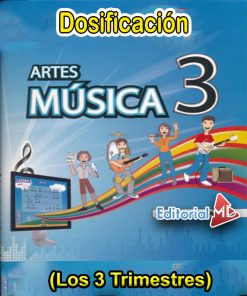 Dosificción de Música 3 (Los tres trimestres)
