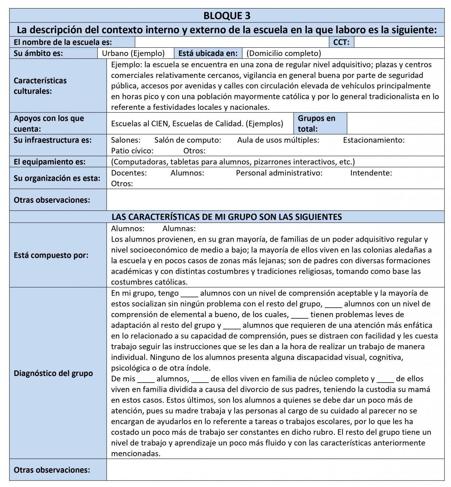 EJEMPLO DE PLANEACIÓN MATEMÁTICAS 1 01
