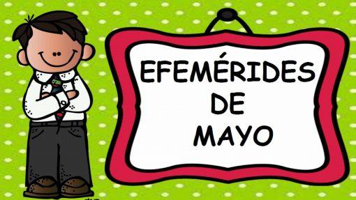 Efemérides de Mayo portada