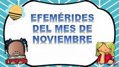Efemérides de Noviembre