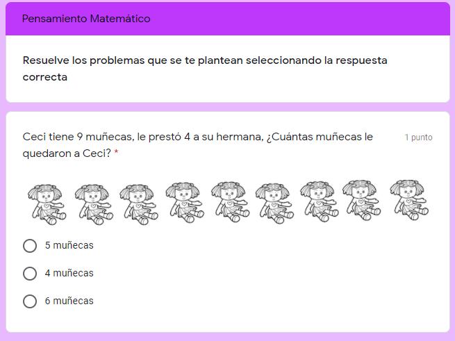 Ejemplo Examen diagnóstico para preescolar 3er grado 03