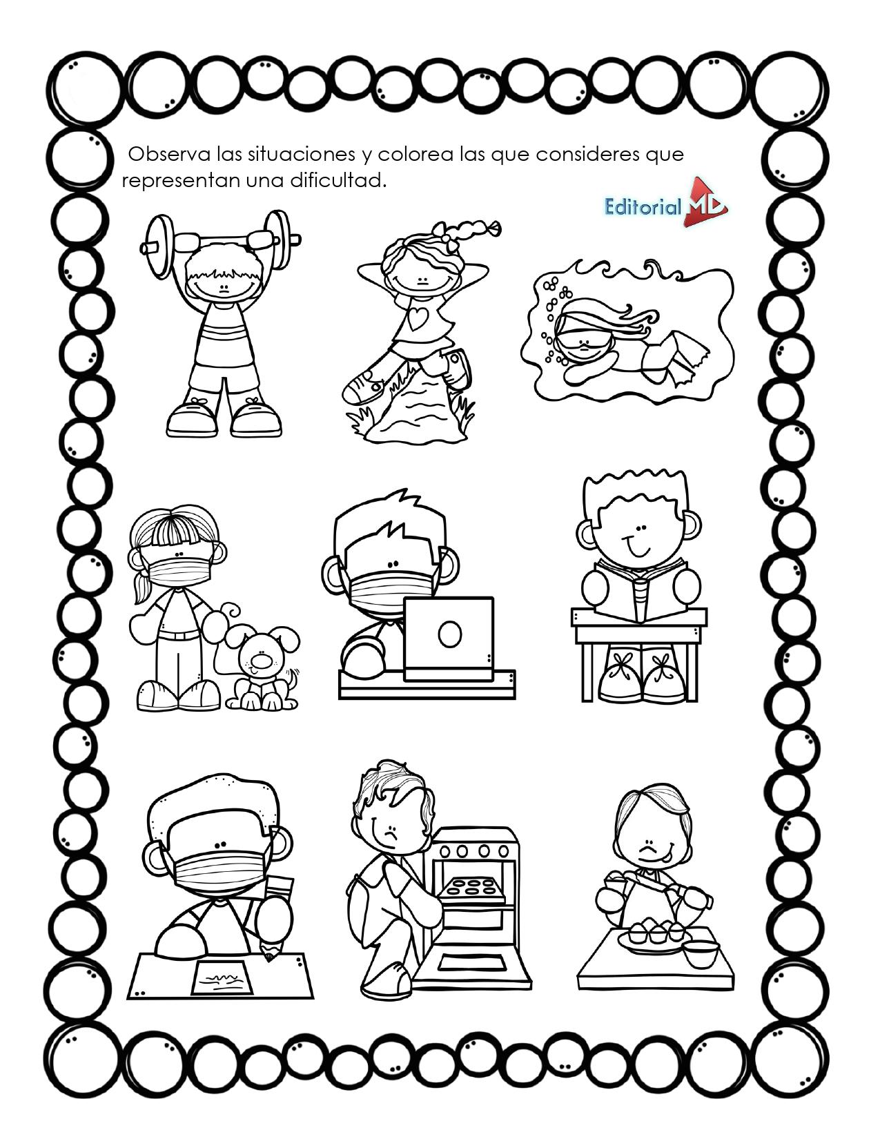 Ejemplo Material de apoyo plan de trabajo preescolar