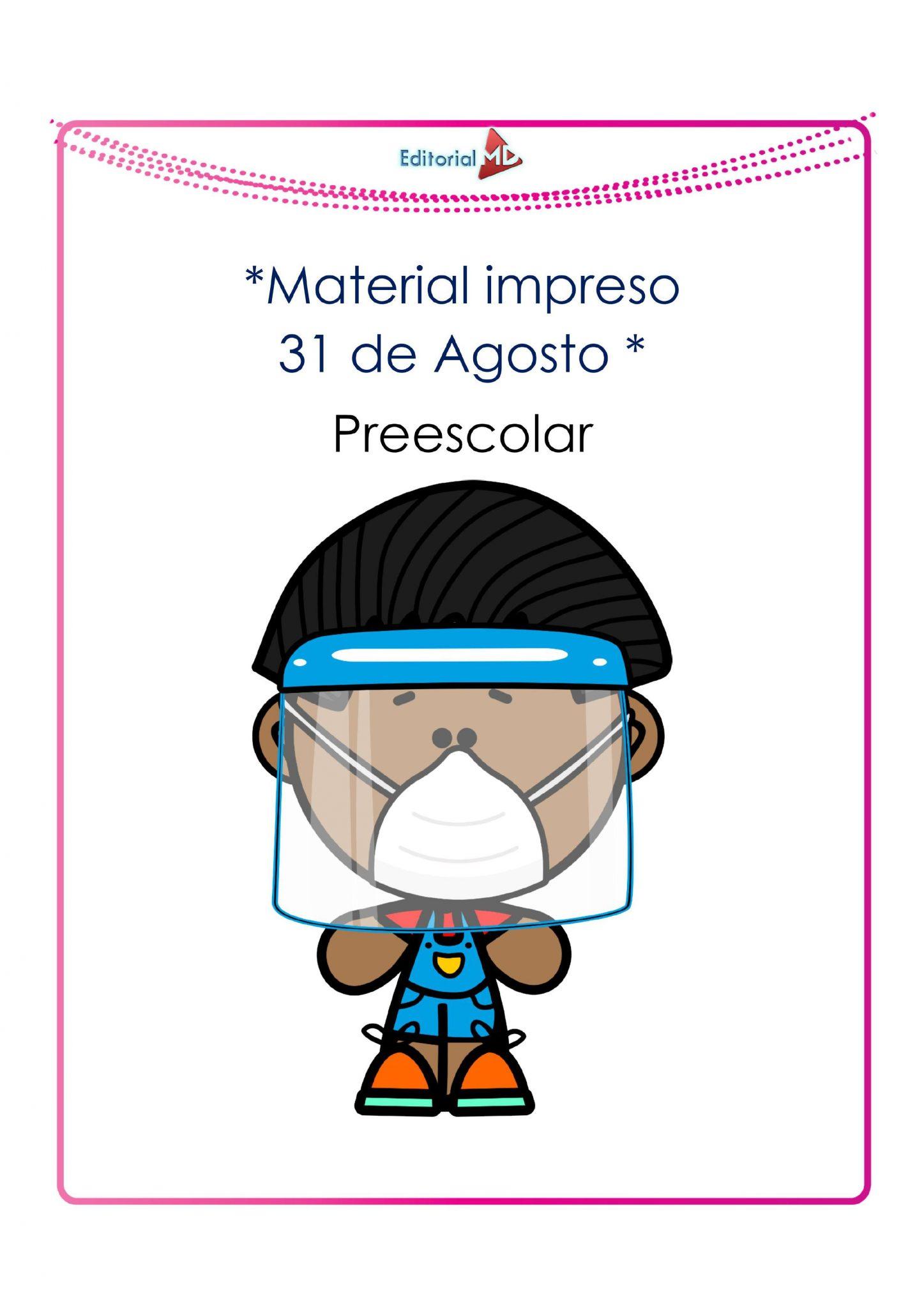 Ejemplo de materiales de apoyo Preescolar JPG