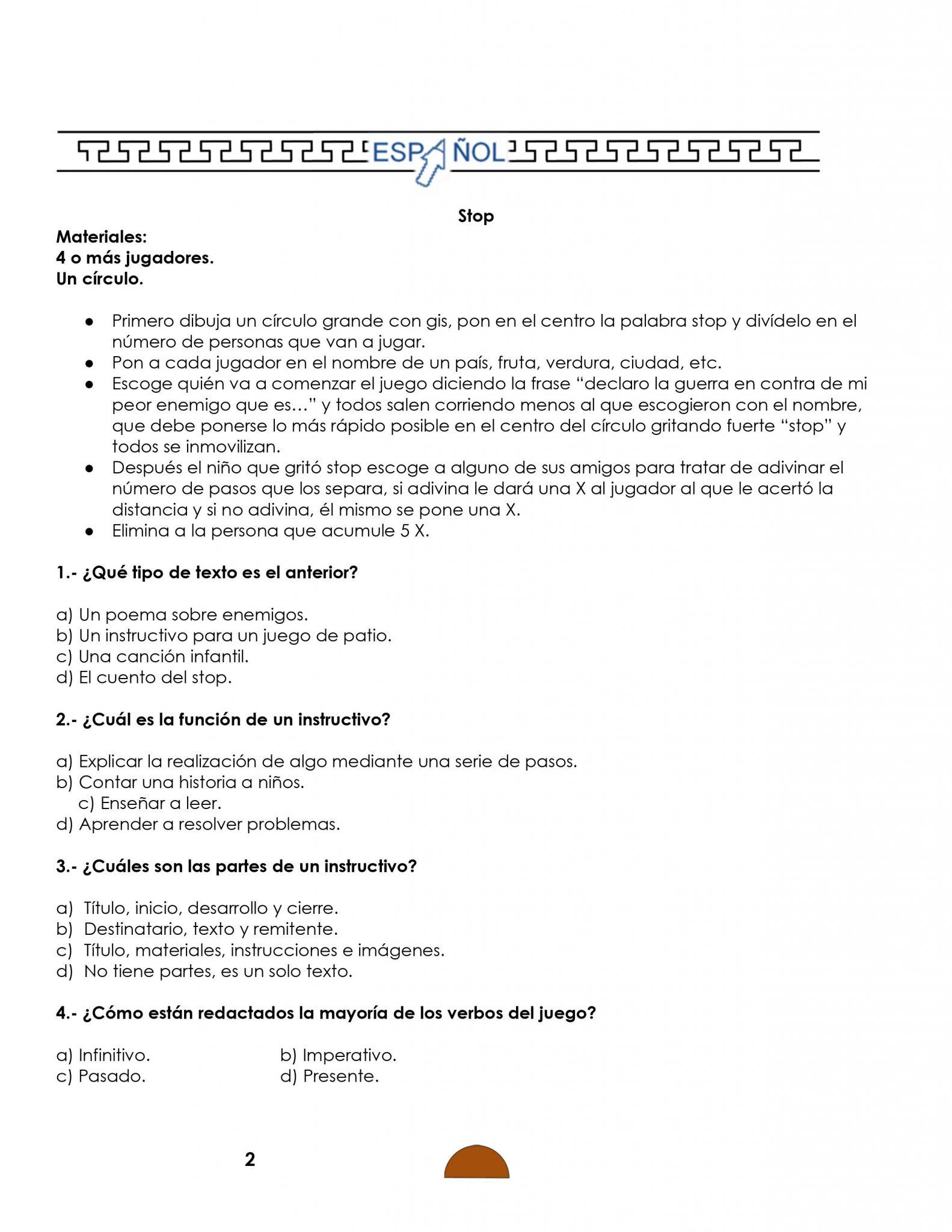 Ejemplo examenes 6to grado 01