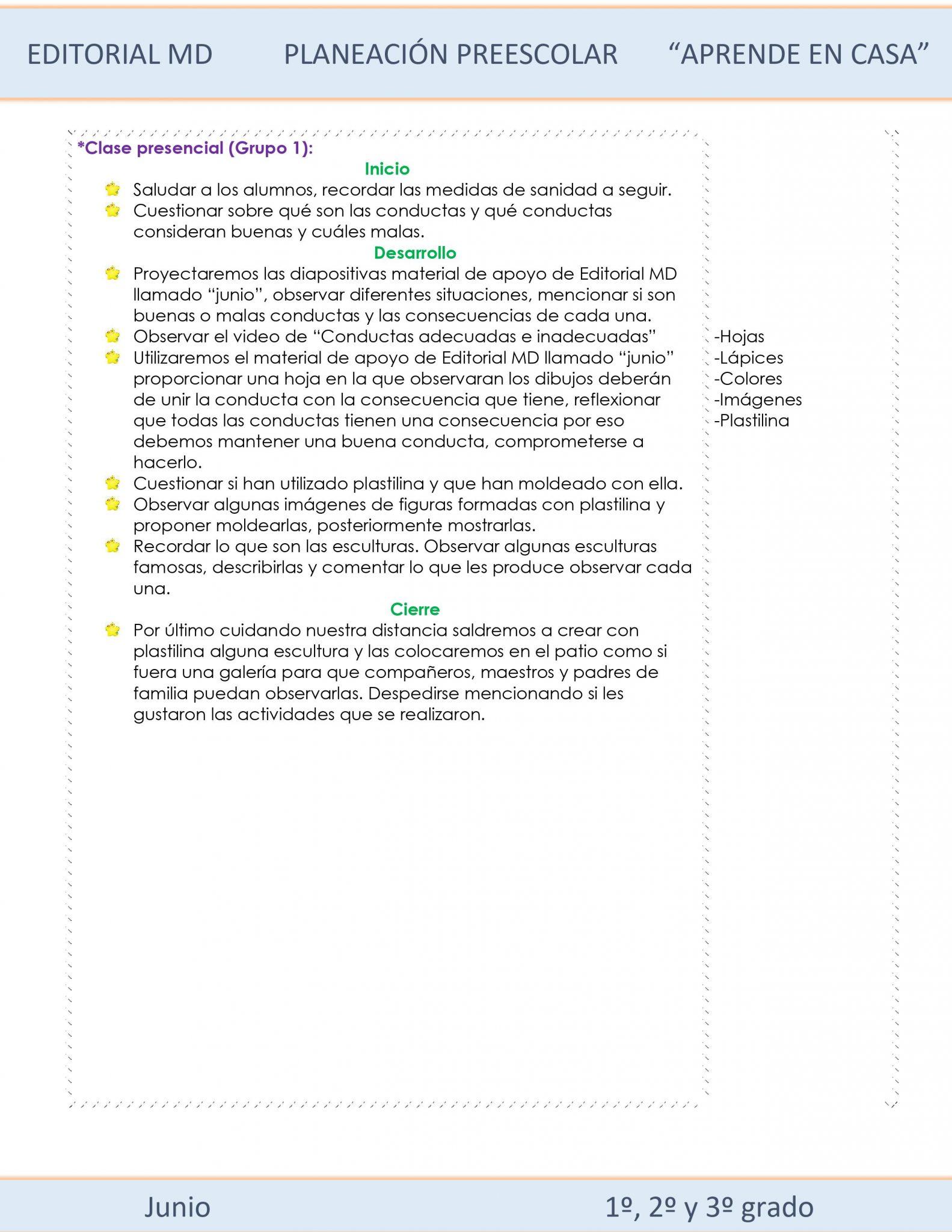 Ejemplo planeación Híbrida semana 38 de preescolar 02