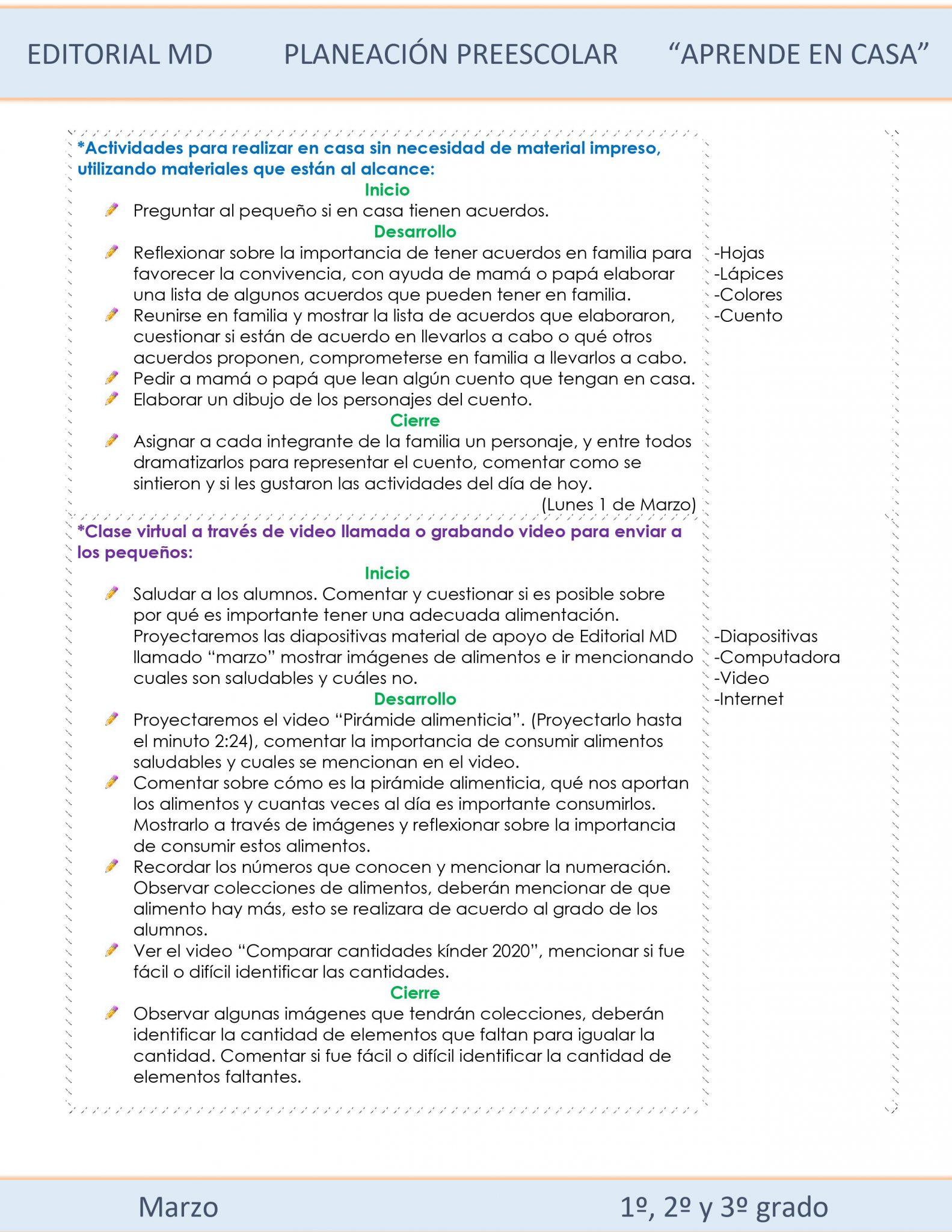 Ejemplo planeación Preescolar del 1 al 5 de marzo del 2021 02