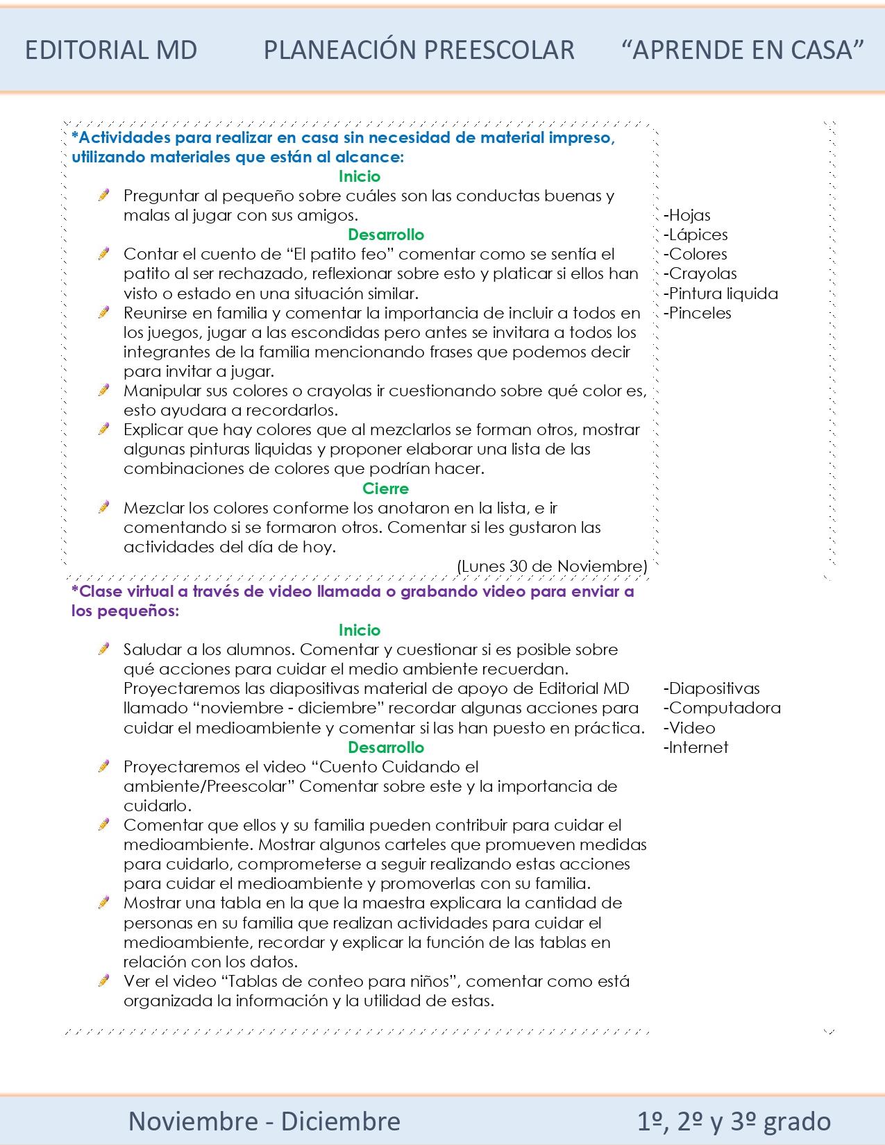 Ejemplo planeación semana 15 preescolar 02