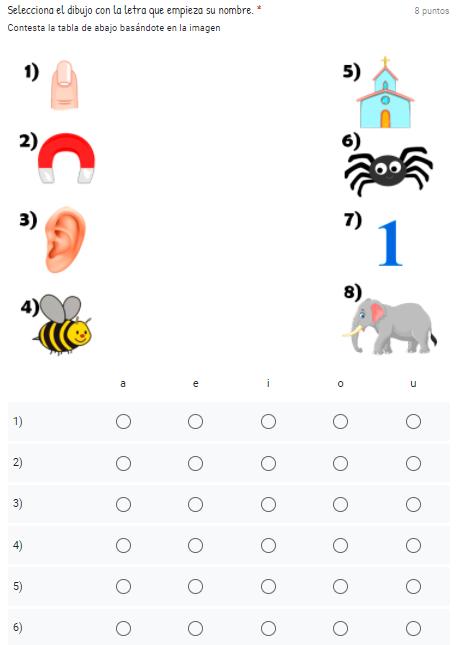 Evaluación Diagnostica 1er Grado lenguaje y comunicacion aprende en casa