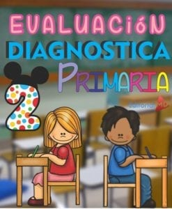 Evaluacion Diagnostica 2 grado