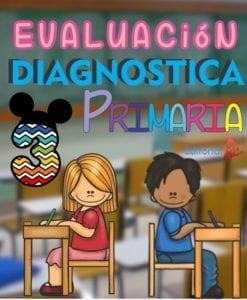 Evaluacion Diagnostica tercero de primaria