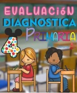 Evaluación Diagnostica Cuarto Grado de Primaria