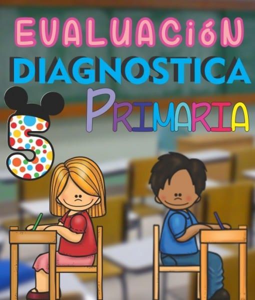 Evaluacion Diagnostica 5 grado de Primaria