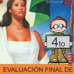 Evaluacion Final Cuarto de Primaria