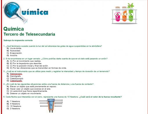 Evaluacion diagnostica 3er grado de telesecundaria 04