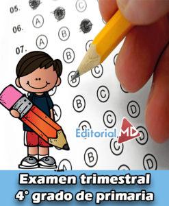 Examen de primaria cuarto grado
