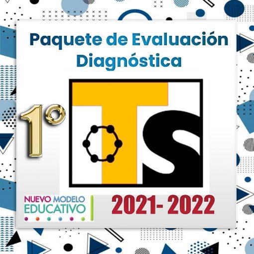 Exámenes Diagnósticos 1er Grado Telesecundaria 2021 - 2022