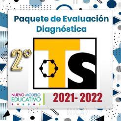 Exámenes Diagnósticos 2do Grado Telesecundaria 2021 - 2022