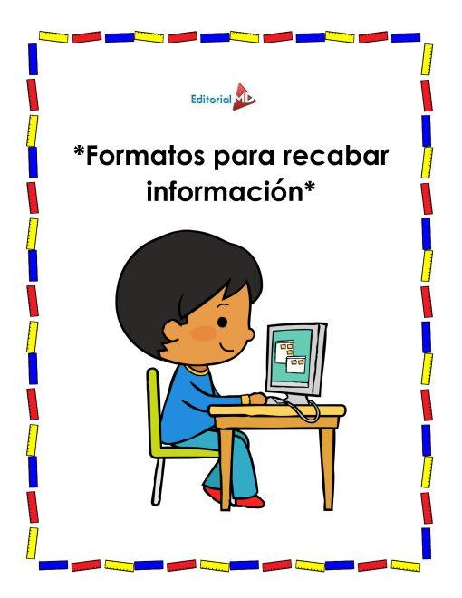 Formatos para recabar informacion 01