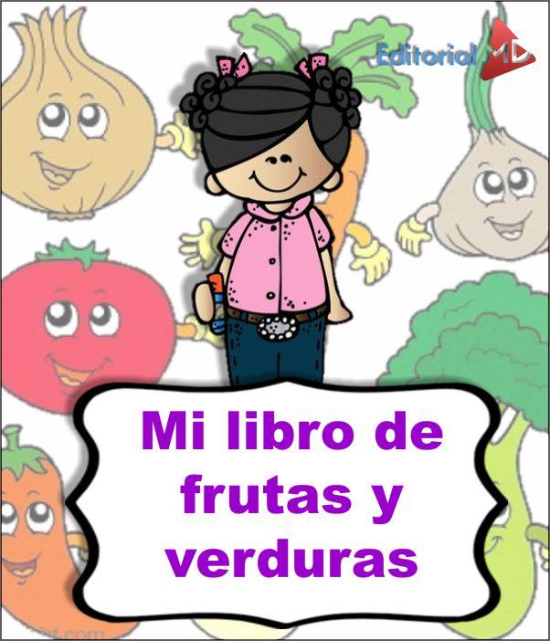 Libro de Frutas y Verduras Saludables para Niños para Imprimir