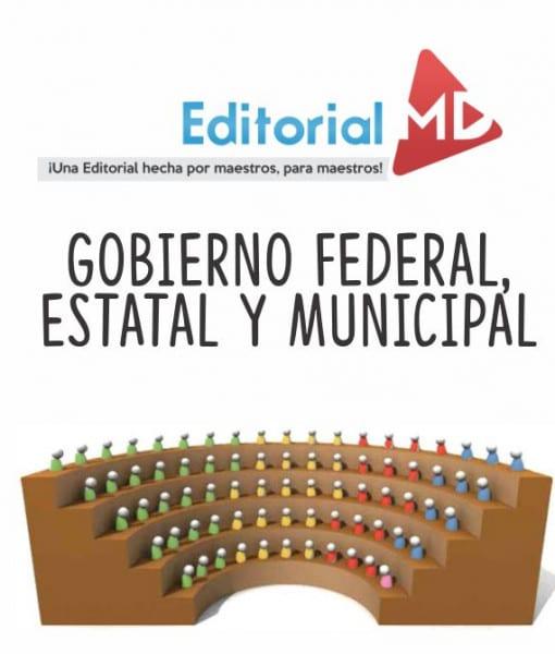 Gobierno federal, estatal y municipal