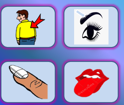 Guess What Body Parts Game