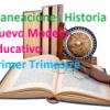 Planeacion Historia I, Nuevo Modelo Educativo (Primer trimestre)