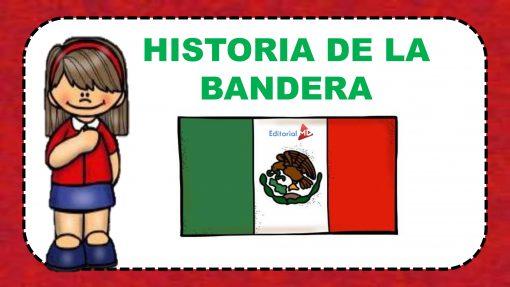 Historia de la bandera Mexicana para niños