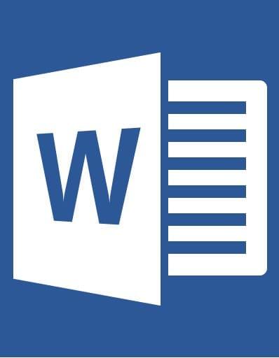 Icono Word 2016 Editorial MD