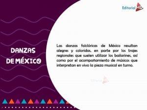 danzas de México definicion