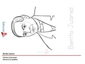 actividades de Benito Juarez para imprimir