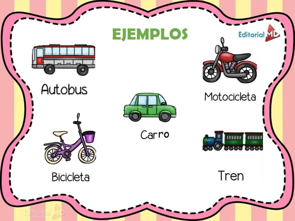 Ejemplo transporte