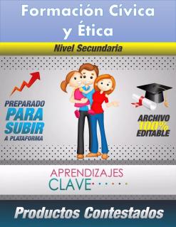 Productos Del Curso Aprendizajes Clave Formacion Civica y Etica Secundaria