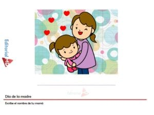 actividades dia de las madres para imprimir